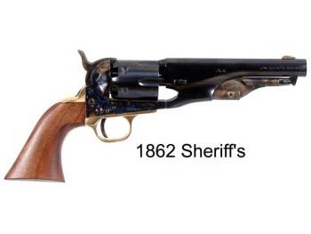 Révolver Pietta 1862 pocket police Shériff cal.44