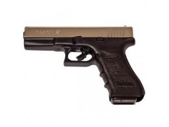 Pistolet Bruni Gap Nickele à blanc