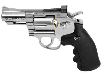 REVOLVER DAN WESSON  2.5'' CHROME CAL.4,5mm co2