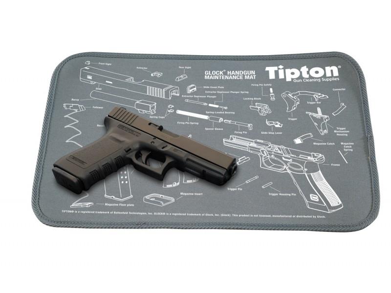 Tipton Tapis De Maintenance Glock Le Tapis Id/éal pour Le Nettoyage /& Le Travail darmurier sur Glock